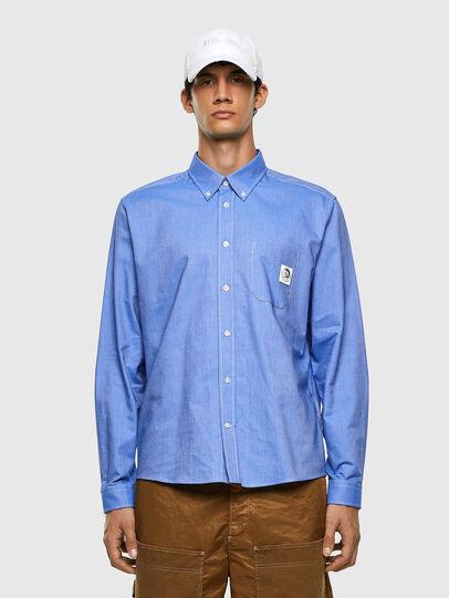 Diesel - S-JAMES, Blau - Hemden - Image 4