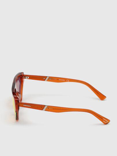 Diesel - DL0322, Arancione - Occhiali da sole - Image 3