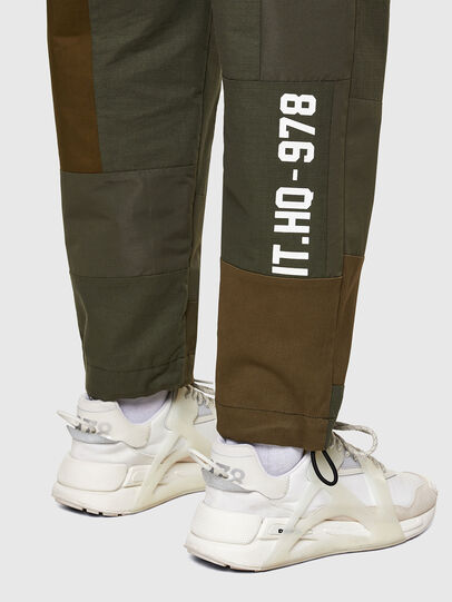 Diesel - P-HOR, Verde Militare - Pantaloni - Image 5