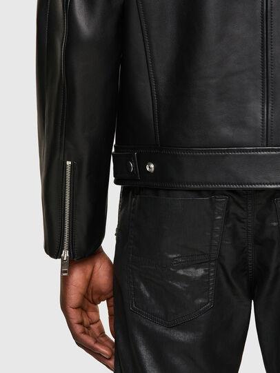 Diesel - L-BOY, Black - Leather jackets - Image 3
