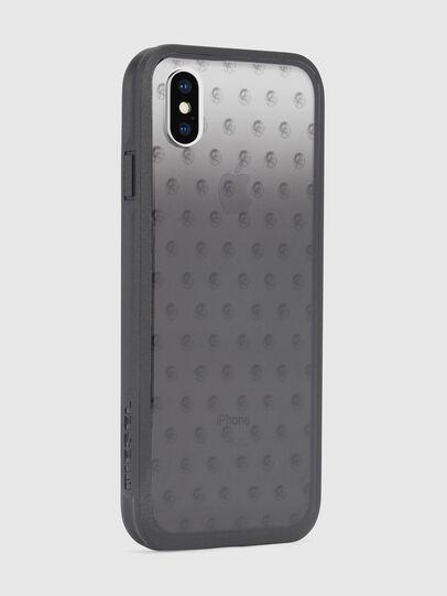 Diesel - MOHICAN HEAD DOTS BLACK IPHONE X CASE, Schwarz/Grau - Schutzhüllen - Image 5