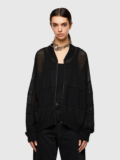 Diesel - M-ALEXA, Black - Knitwear - Image 1