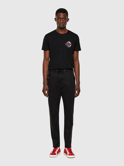 Diesel - Krooley JoggJeans® 069NC, Noir/Gris foncé - Jeans - Image 5