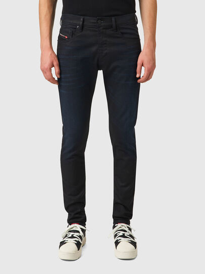 Diesel - D-Strukt JoggJeans® 069XN, Nero/Grigio scuro - Jeans - Image 1