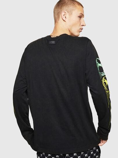 Diesel - T-JUST-LS-B5, Schwarz - T-Shirts - Image 2