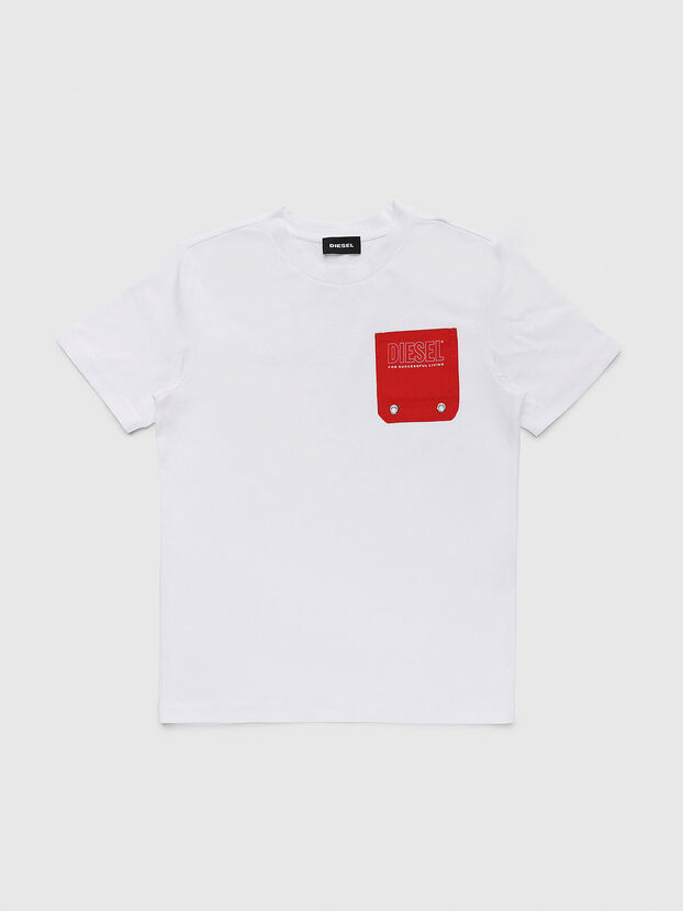 TBMOW, Weiß/Rot - T-Shirts und Tops