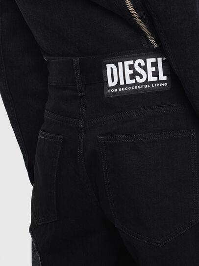 Diesel - DE-REIKA-SX, Schwarz - Hosen - Image 5