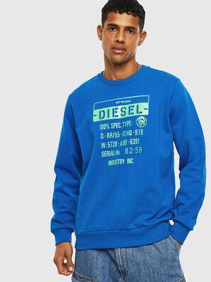 S-GIRK-S3, Blau - Sweatshirts
