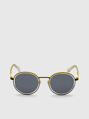 DL0321, Schwarz/Gelb - Sonnenbrille