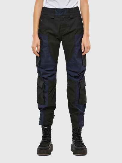 Diesel - D-Kiki JoggJeans® 009KM, Schwarz/Dunkelgrau - Jeans - Image 1