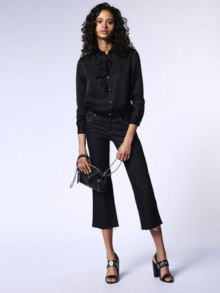 SANDY-KICK 0665W, Black Jeans