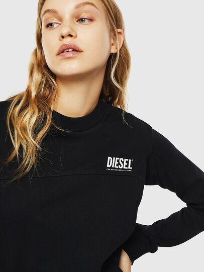 Diesel - UFLT-VICTORIAL, Schwarz - Sweatshirts - Image 3