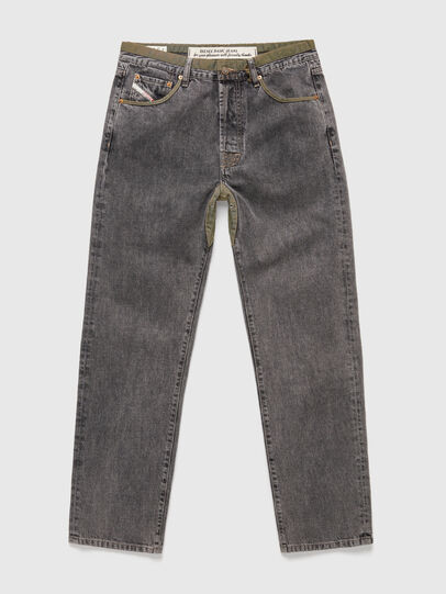 Diesel - DxD-P2 0CBBH, Schwarz/Dunkelgrau - Jeans - Image 1