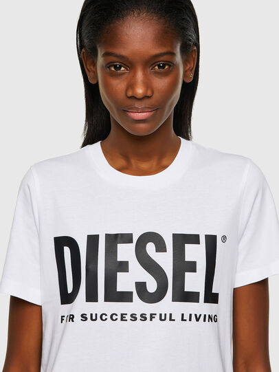 Diesel - T-SILY-ECOLOGO, Blanc - T-Shirts - Image 3