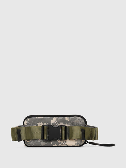 Diesel - BELT RUBBER CASE BIG, Camouflagegrün - Continental Portemonnaies - Image 2