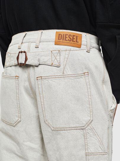 Diesel - D-FRAK, Weiß - Hosen - Image 3