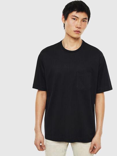 Diesel - T-TIGE, Schwarz - T-Shirts - Image 1