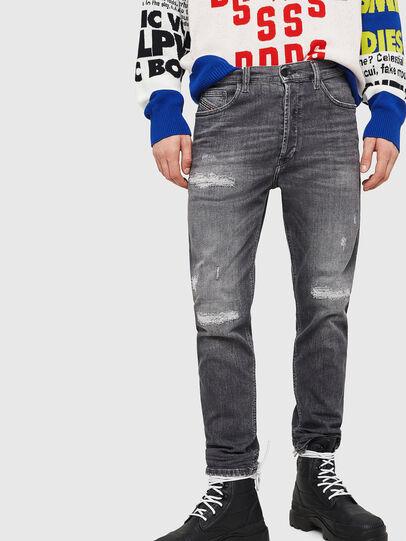 Diesel - D-Eetar 0890F, Hellgrau - Jeans - Image 1