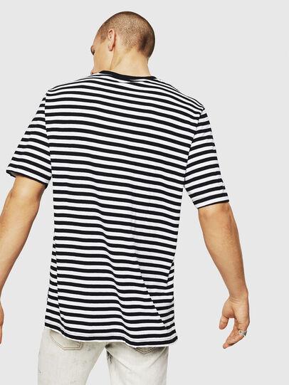 Diesel - T-VIKTOR, Schwarz/Weiß - T-Shirts - Image 2