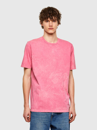 Diesel - T-JUST-E2, Rosa - T-Shirts - Image 1