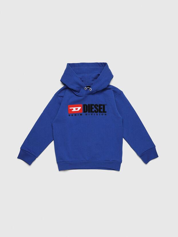 SDIVISION OVER, Brillantblau - Sweatshirts