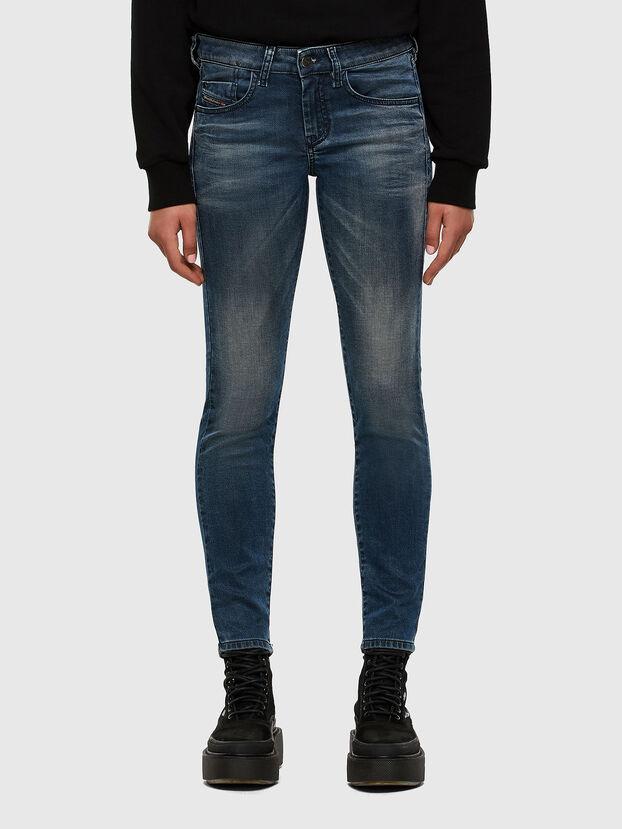 D-Ollies JoggJeans 069NM, Mittelblau - Jeans