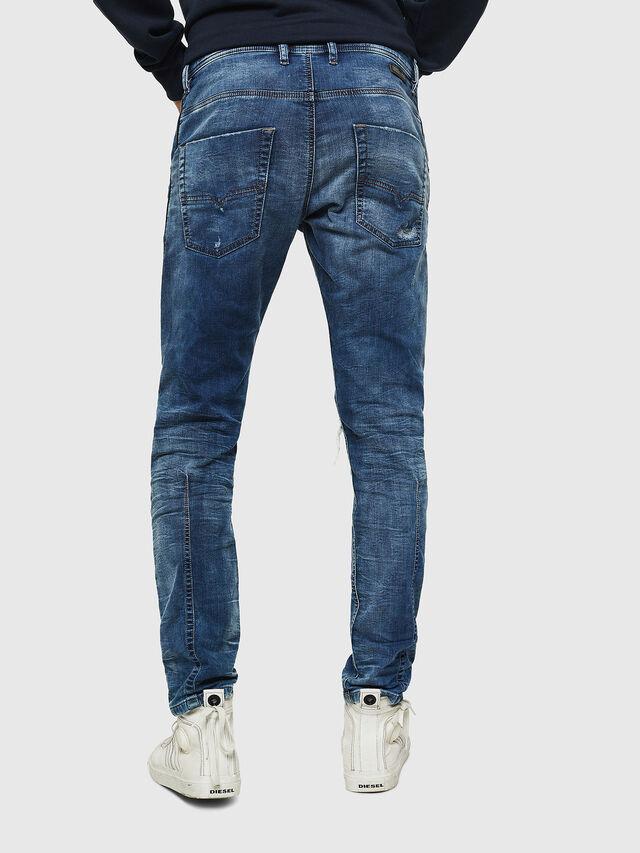 Diesel - Krooley JoggJeans 0685I, Mittelblau - Jeans - Image 2