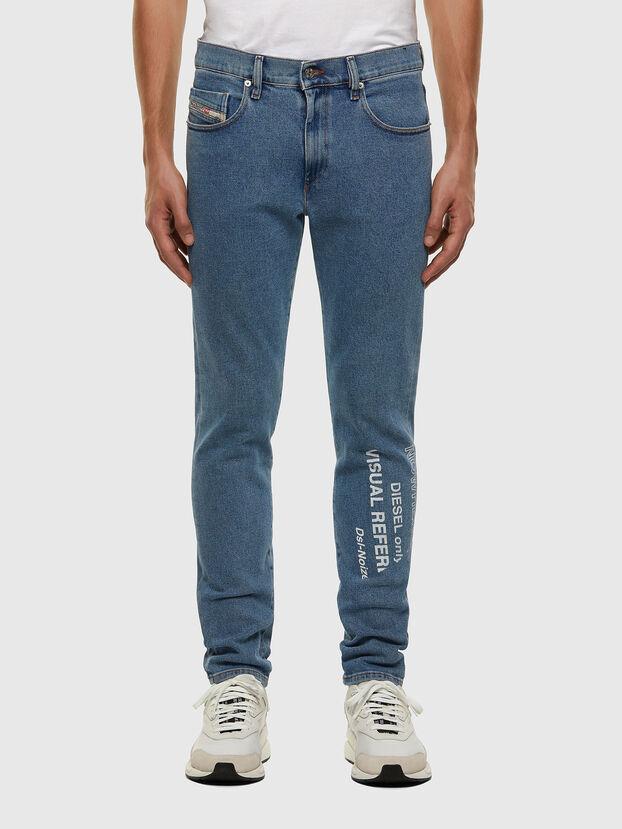 D-Strukt 009DX, Hellblau - Jeans