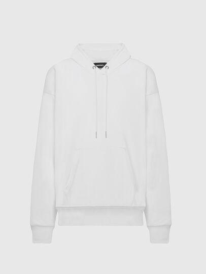 Diesel - S-ALBY-COPY-J1, Blanc - Pull Cotton - Image 1