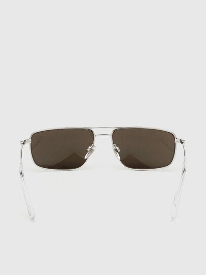 Diesel - DL0308, Weiß - Sonnenbrille - Image 4