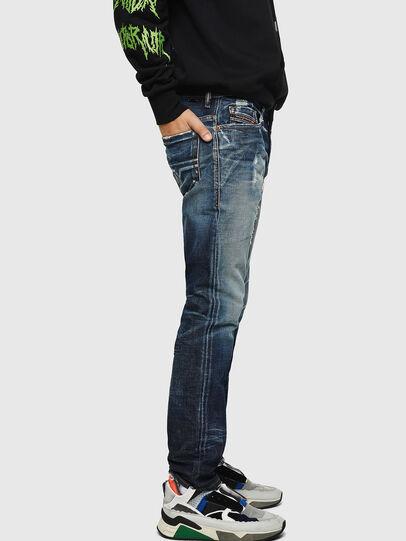 Diesel - Thommer 0092I, Dunkelblau - Jeans - Image 5