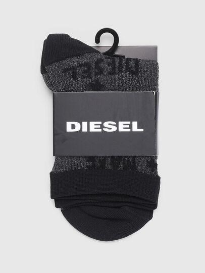 Diesel - SKF-SIUXINE, Schwarz - Strümpfe - Image 2