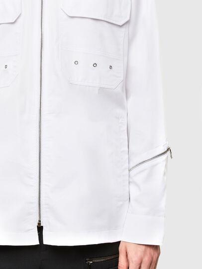 Diesel - S-KULT, Weiß - Hemden - Image 4