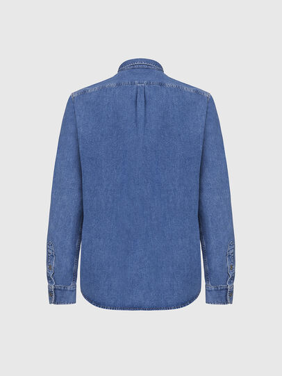 Diesel - D-BILLY, Blu Chiaro - Camicie in Denim - Image 2