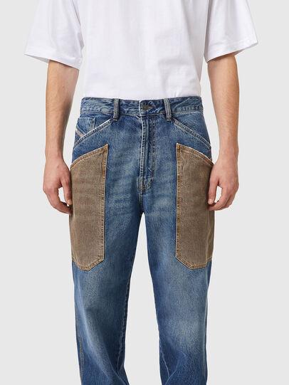 Diesel - D-Franky 0GCAY, Bleu moyen - Jeans - Image 4