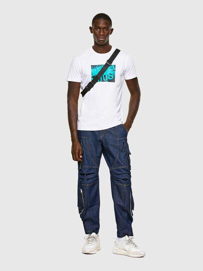 Diesel - T-DIEGOS-K16, Weiß - T-Shirts - Image 4