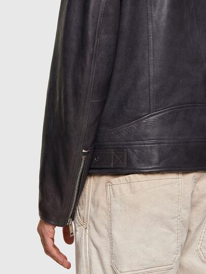 Diesel - L-CODY-NEW, Noir - Vestes de cuir - Image 6