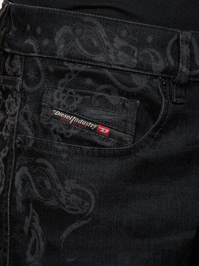 Diesel - D-Strukt 009KT, Schwarz/Dunkelgrau - Jeans - Image 4