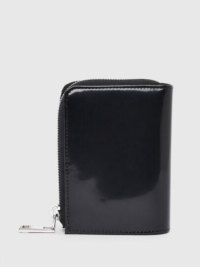 Diesel - L-12 ZIP, Black - Zip-Round Wallets - Image 2