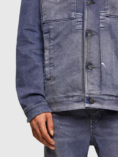 Diesel - D-ANTONY-SP, Bleu moyen - Vestes en denim - Image 5
