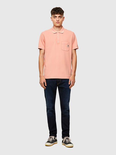 Diesel - T-POLO-WORKY-B1, Rose Poudré - Polos - Image 4