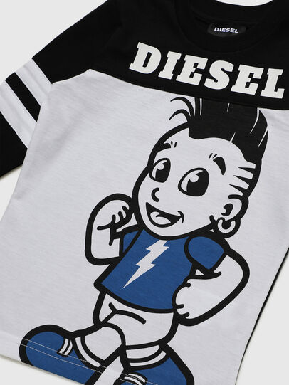 Diesel - TILLYB-R, Schwarz/Weiss - T-Shirts und Tops - Image 3