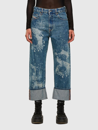 Diesel - D-Reggy 0079H, Mittelblau - Jeans - Image 1