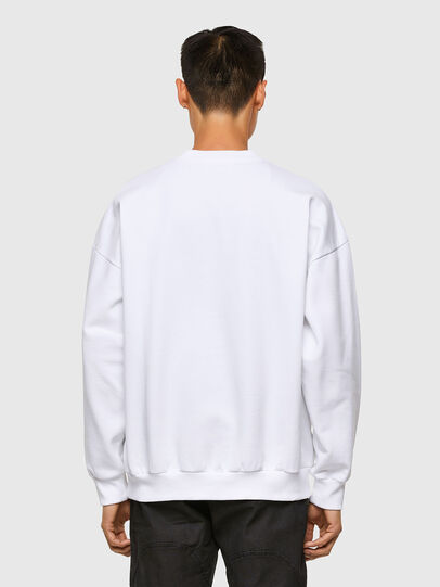 Diesel - S-MART-A90, White - Sweaters - Image 2