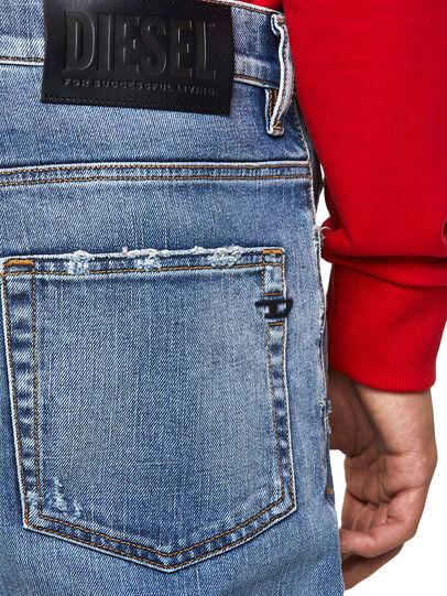 Diesel - D-Fining Z9A19, Blu Chiaro - Jeans - Image 4