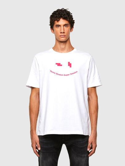 Diesel - T-JUST-N43, Weiß - T-Shirts - Image 1