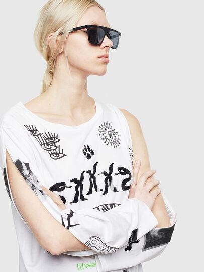 Diesel - T-ROSY-A, Weiß - T-Shirts - Image 4