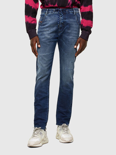 Diesel - Krooley JoggJeans® 069SL, Bleu Foncé - Jeans - Image 1