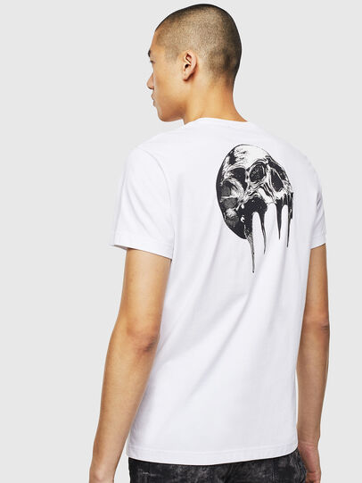 Diesel - T-DIEGO-J10, Weiß - T-Shirts - Image 4
