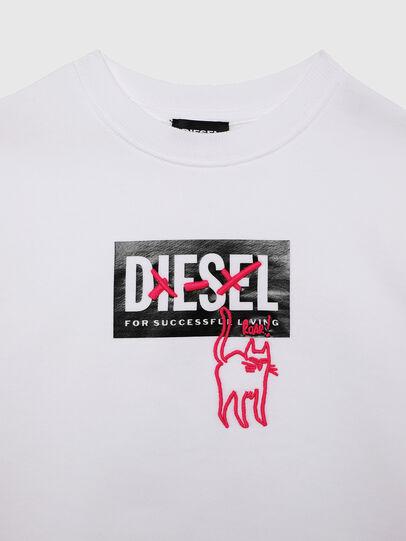 Diesel - SMUGD OVER, Weiß - Sweatshirts - Image 3